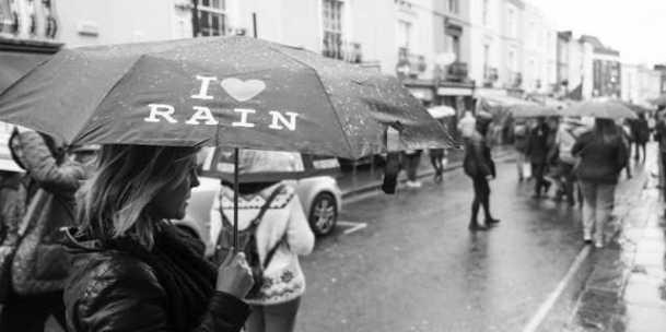 I love rain