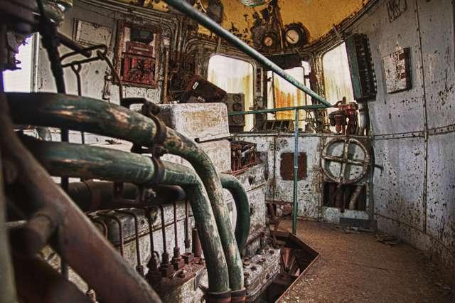 Machine kamer trein