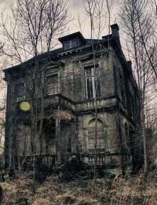 Vervallen villa